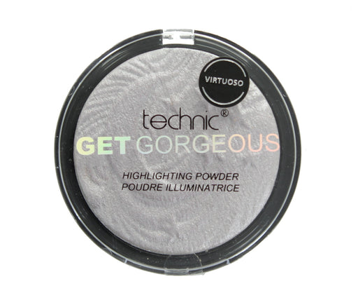 Technic Get Gorgeous Highlighting Pressed Powder Face Highlighter 12g-Virtuoso