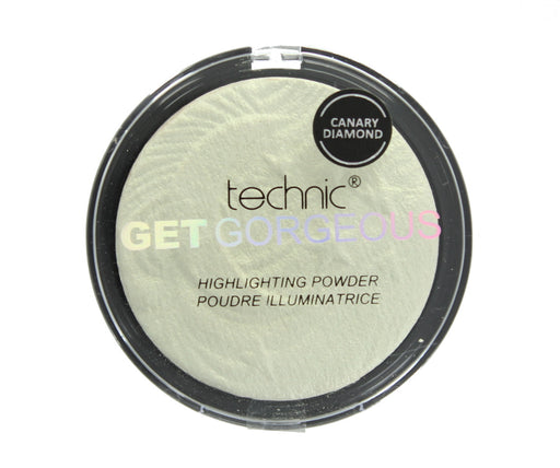 Technic Get Gorgeous Highlighting Pressed Powder Highlighter 12g-Canary Diamond