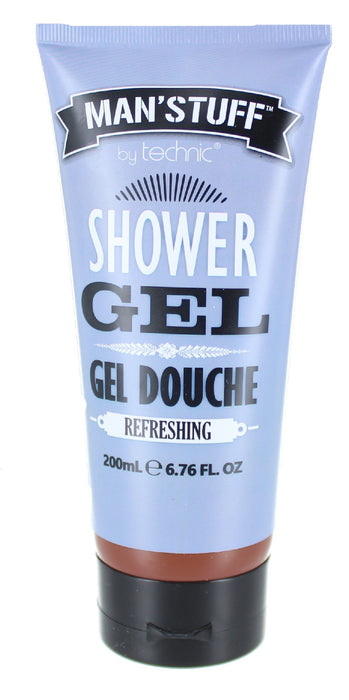 Technic Man' Stuff Refreshing Gel Douche Shower Gel 200ml