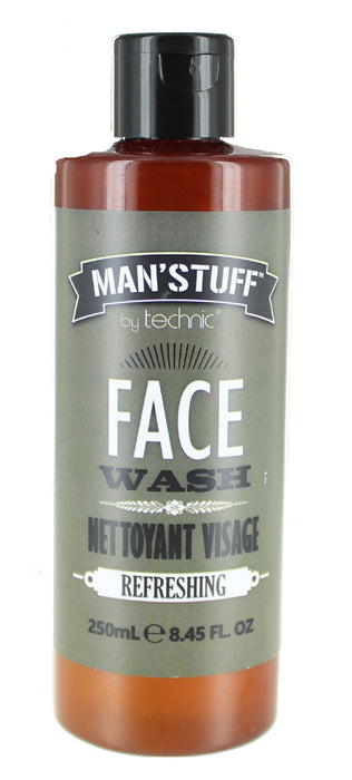 Technic Man' Stuff Nettoyant Visage Refreshing Face Wash 250ml