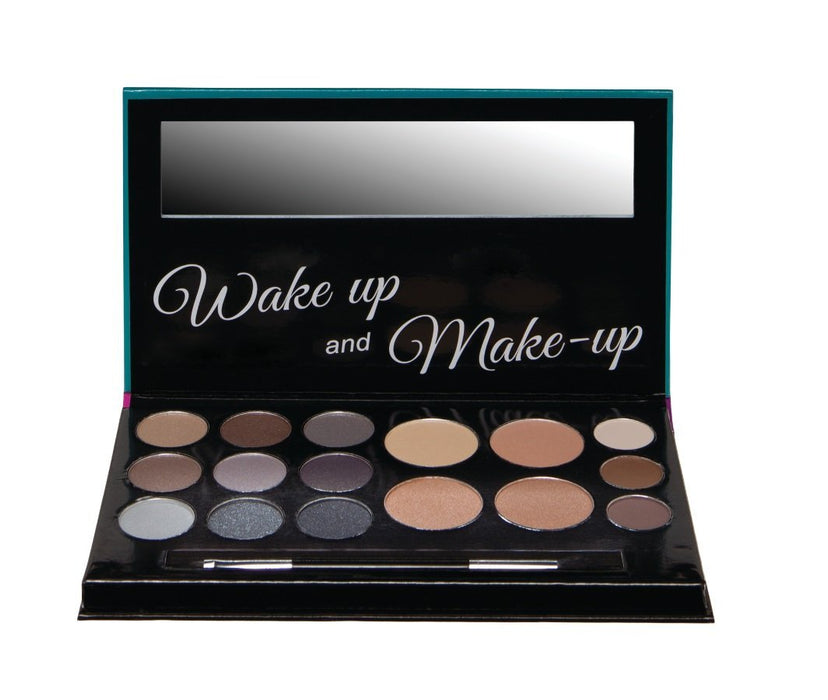 Technic Eyes, Brows,Face Wake Up & Make Up Face Palette