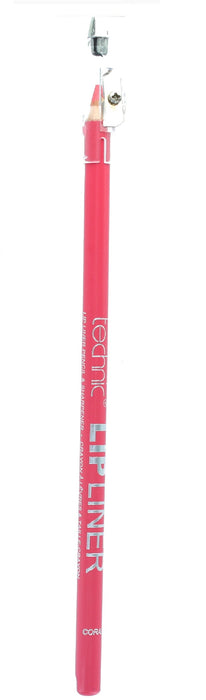 Technic Lip Liner Pencil & Sharpener-Coral