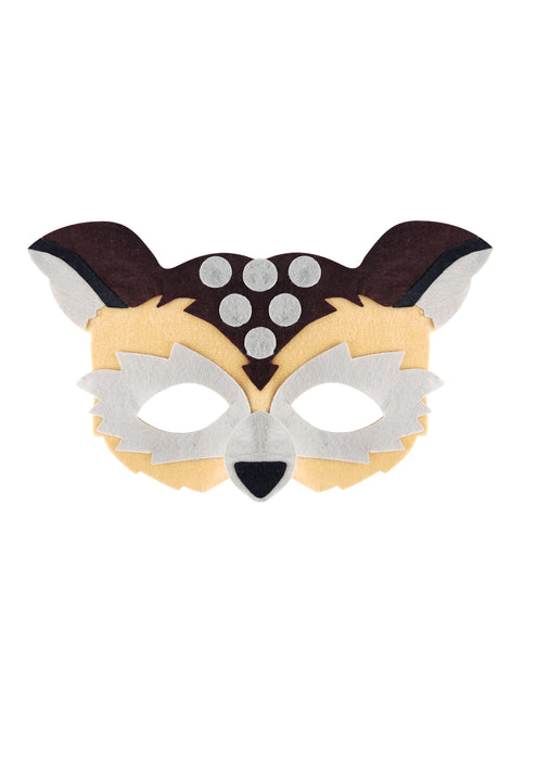Adult Owl Eye Mask Animal Fancy Dress Accessory