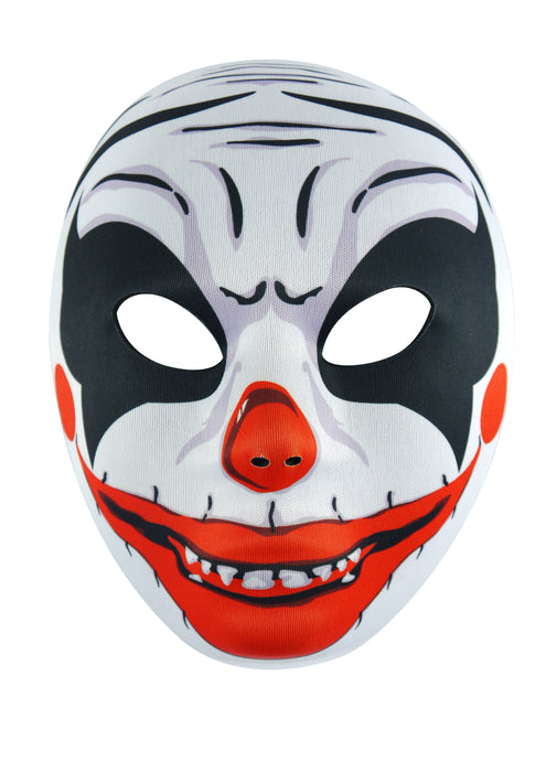Adults Halloween Scary Clown Face Mask Fancy Dress Accessory