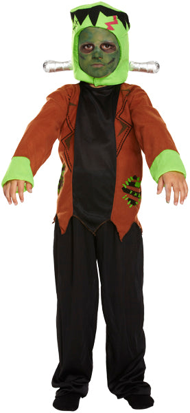 Children's Halloween Monster Fancy Dress Costume-4-6 Years