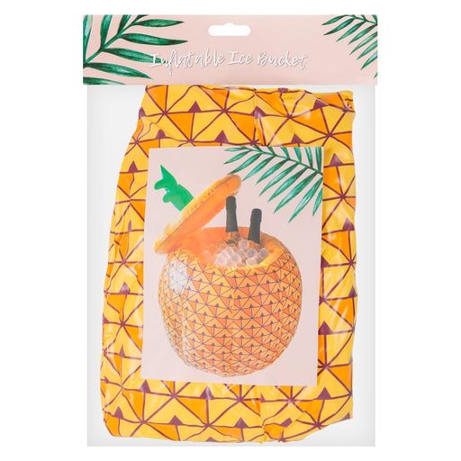 Inflatable Pineapple Ice Bucket Novelty Tropical Party Tableware Decoration
