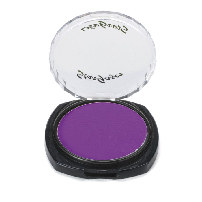 Stargazer Fluorescent Neon UV Reactive Pressed Powder Eyeshadow Make Up-Violet