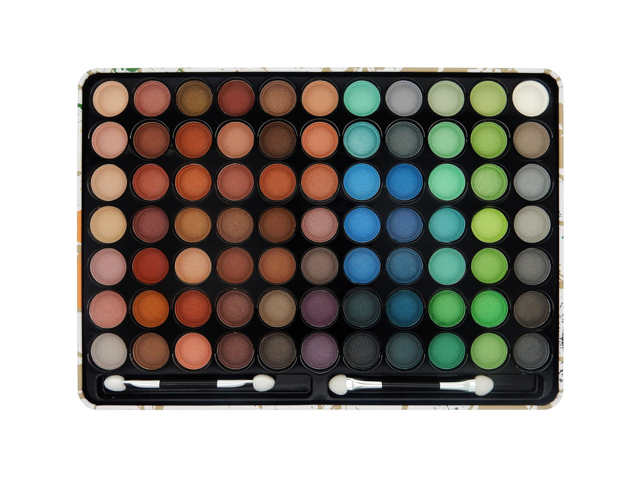 W7 Paintbox 77 Eye Shadow Colour Shades Palette