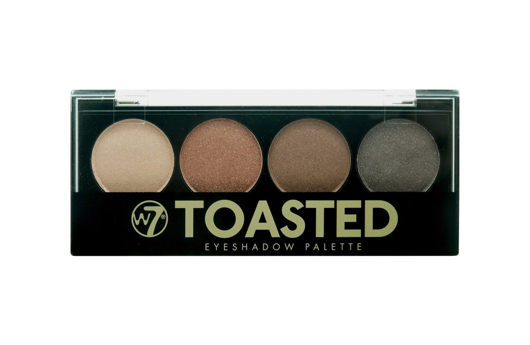 W7 Toasted 4 Colour Palette Shades Make Up Cosmetic  Eyeshadow Eye Shadow Kit