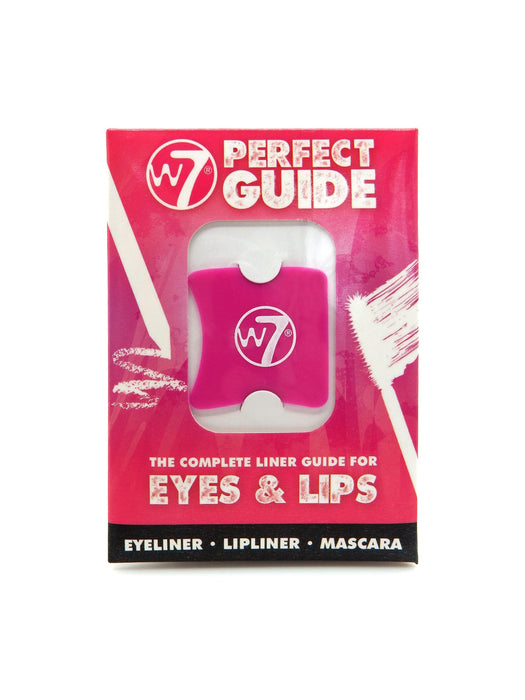 W7 The Perfect Guide - The Complete Liner Guide For Eyes & Lips