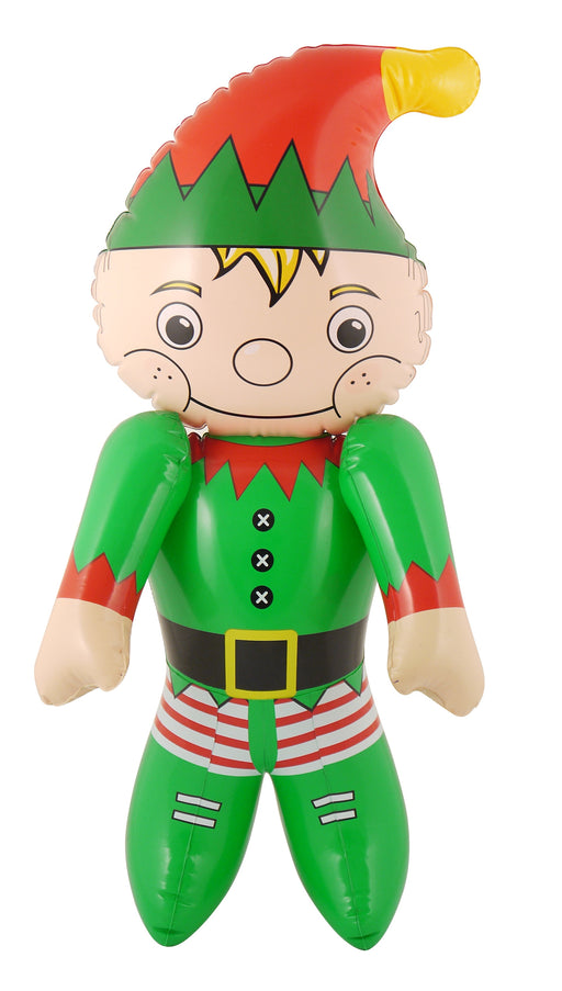 Festive Novelty Christmas Inflatable Elf Party Accessory 65cm