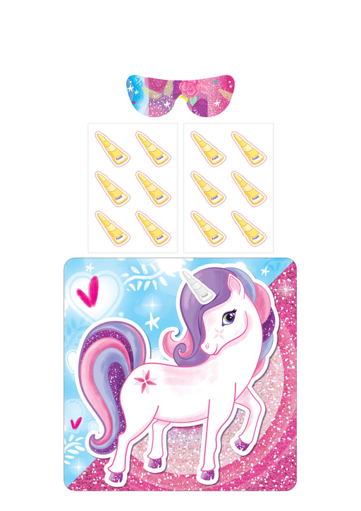 Little Unicorn Dreams Stick the Horn on the Unicorn Childrens Party Game