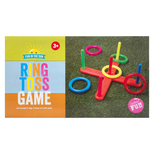 Ring Toss Family Outdoor Garden Game Picnic Beach Play Set