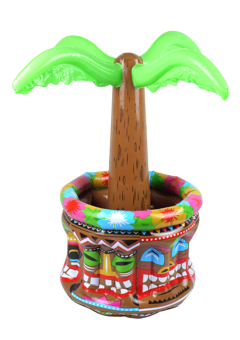 Henbrandt Inflatable Palm Tree Drinks Cooler Hawaiian Aztec Beach Party 66cm