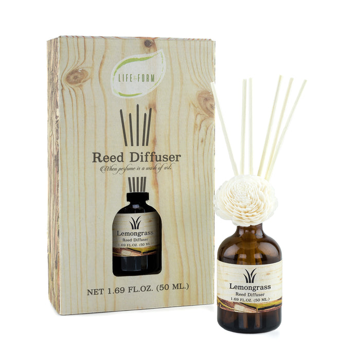 Life & Form Reed Diffuser Lemongrass