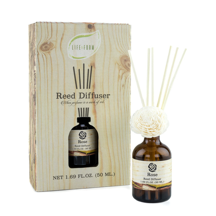 Rose Reed Diffuser by Life & Form | home fragrance