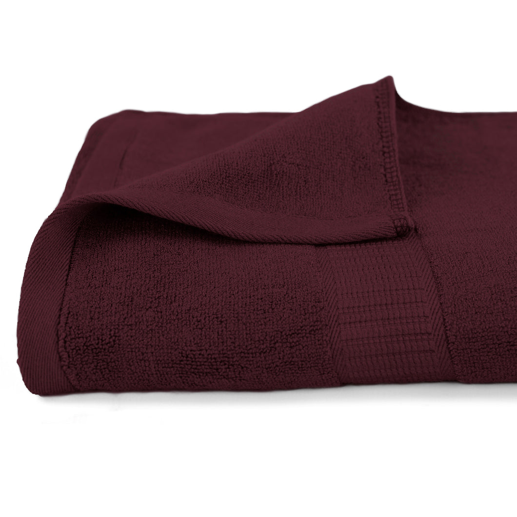 Life & Form Bamboo Bath Towel Antique Red