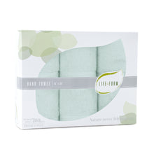 Life & Form Bamboo Hand Towel Jade in Gift Box