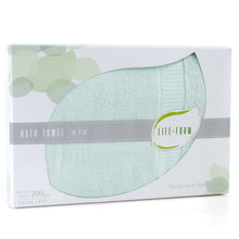 Life & Form Bamboo Bath Towel Jade in Gift Box