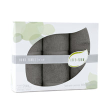 Life & Form Bamboo Hand Towel Olive Grey in Gift Box