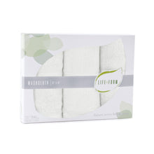 Life & Form Bamboo Washcloth Pearl in Gift Box