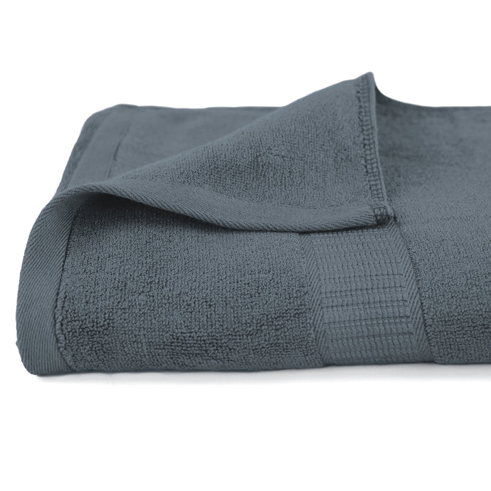 Life & Form Bamboo Bath Towel Vessel Grey