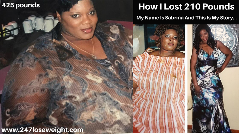 How I Lost 210 Pounds (Inspite of my health issues, losing my job and burying 6 family members)