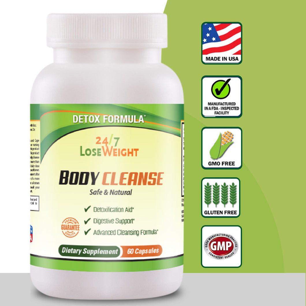 24 / 7 Body Cleanse - Free Shipping-