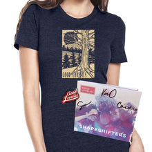 Forest Tee + Pin + Signed Shapeshifters CD Bundle