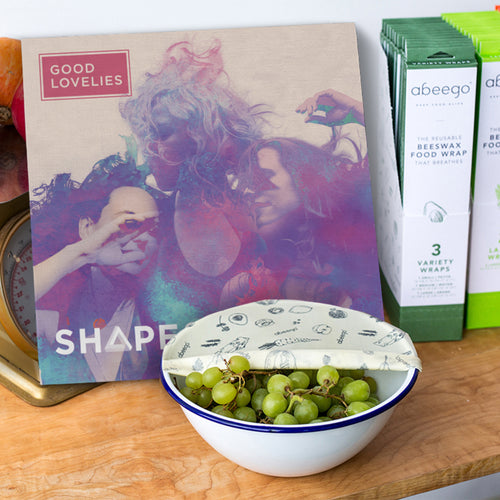 Shapeshifters Vinyl + Abeego Beeswax Wraps Bundle
