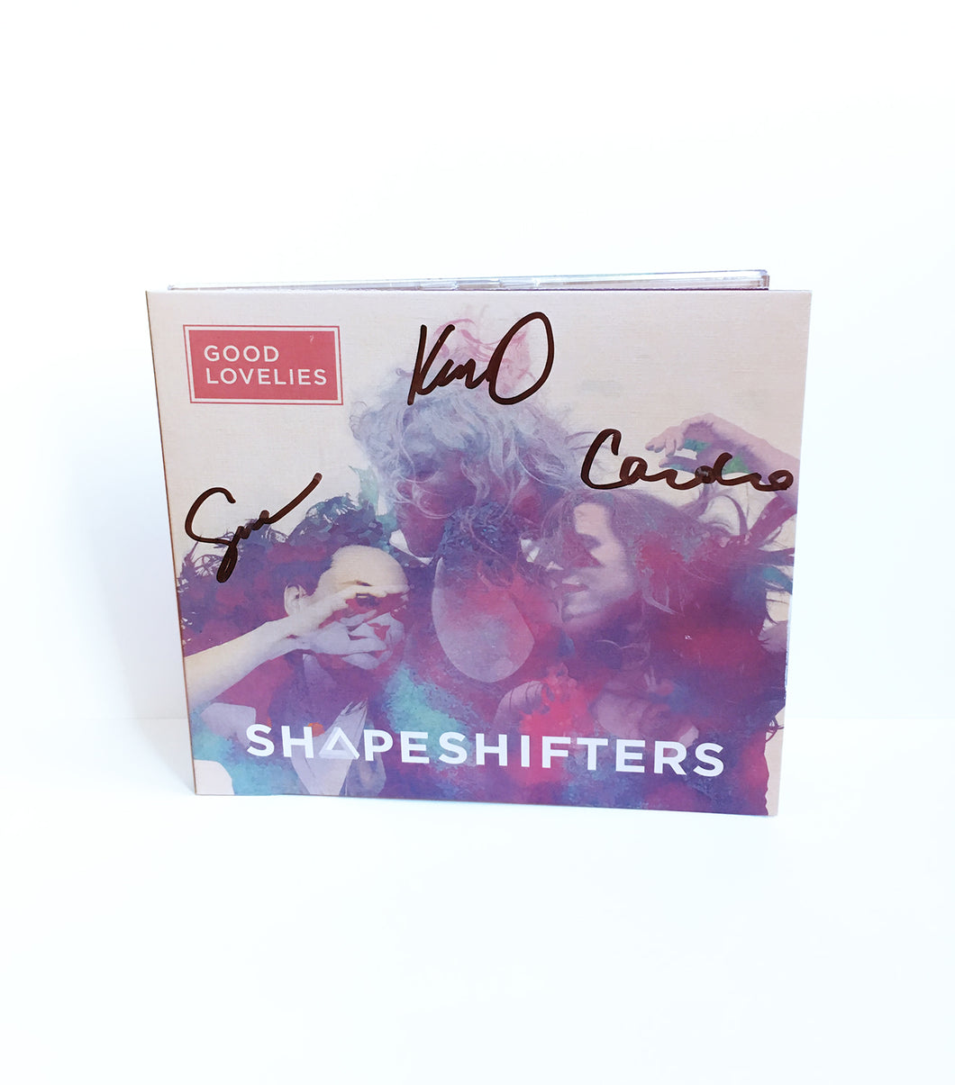 SIGNED Shapeshifters CD