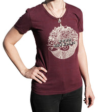 Circle Tee with Scoop Neck