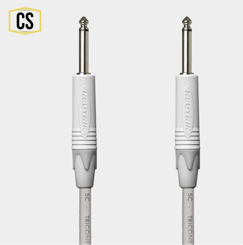 White Guitar Cable