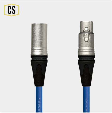 Blue Mogami Microphone Cable