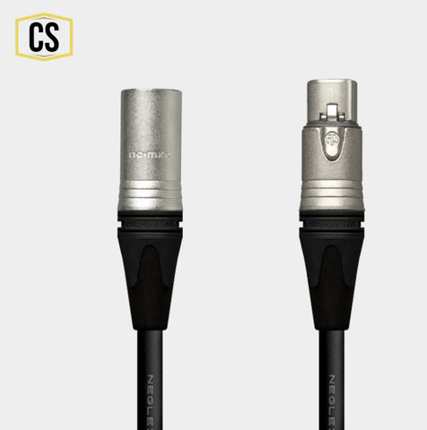 Black Mogami Microphone Cable