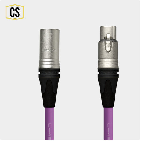 Purple Star Quad Microphone Cable