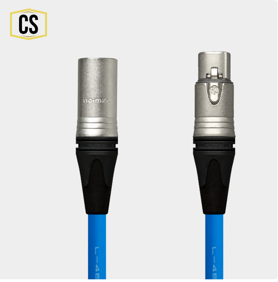 Blue Star Quad Microphone Cable