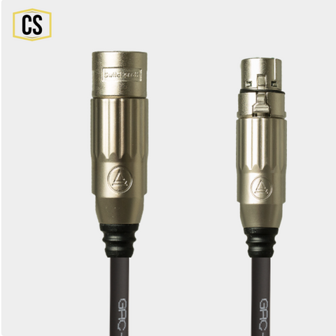 Dark Grey Gotham Microphone Cable