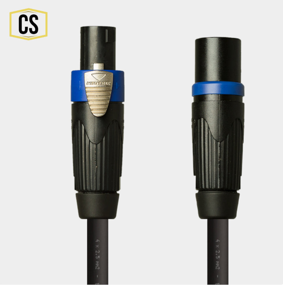 NL4 Speaker Cable Female to Male