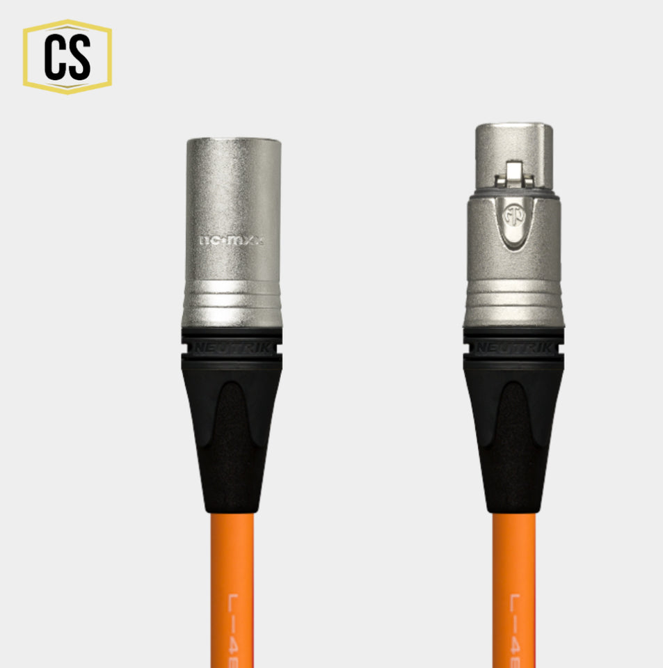 Orange Star Quad Microphone Cable
