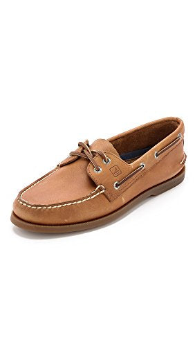 Sperry Mens A/O 2-Eye Boat Shoe, Sahara, 8.5