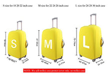 Personalized Luggage Cover Spandex Suitcase Protector Washable Travel Baggage Covers