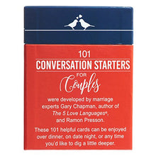 101 Conversation Starters for Couples by Gary Chapman and Ramon Presson
