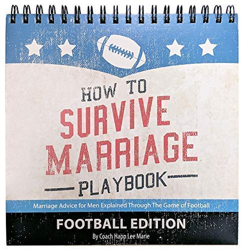 Anniversary Gift for Husband (Great for Birthdays) The Official Marriage Playbook - Advice for Men Explained Through the Game of Football