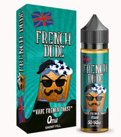 French Dude 0mg 50ml Shortfill