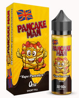 Vape Pancakes - Pancake Man 0mg 50ml Shortfill