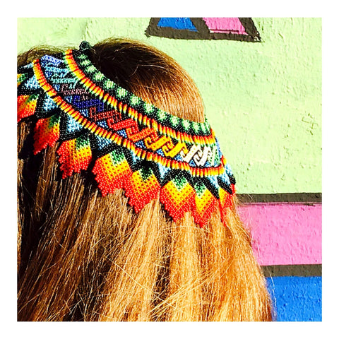 Necklace As Hair Crown