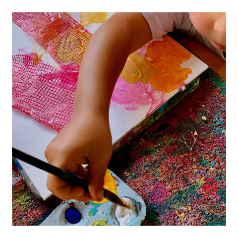 Textured Art Project for Kids