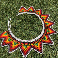 Cones Shape Choker Embera Handmade Necklace