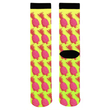 Totally Psyched About These Pink Pineapple Socks - Adult Swim Time